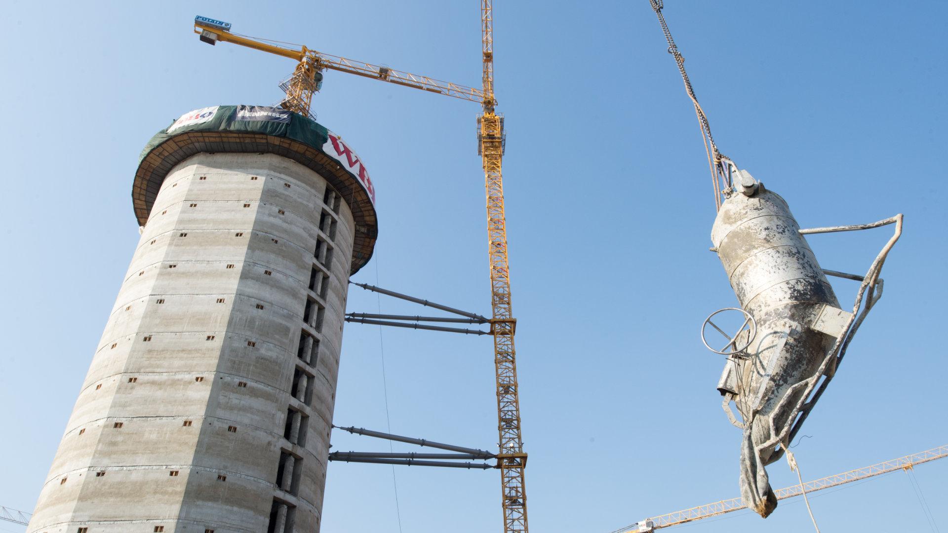 PWC TOWER SLIDING WORK