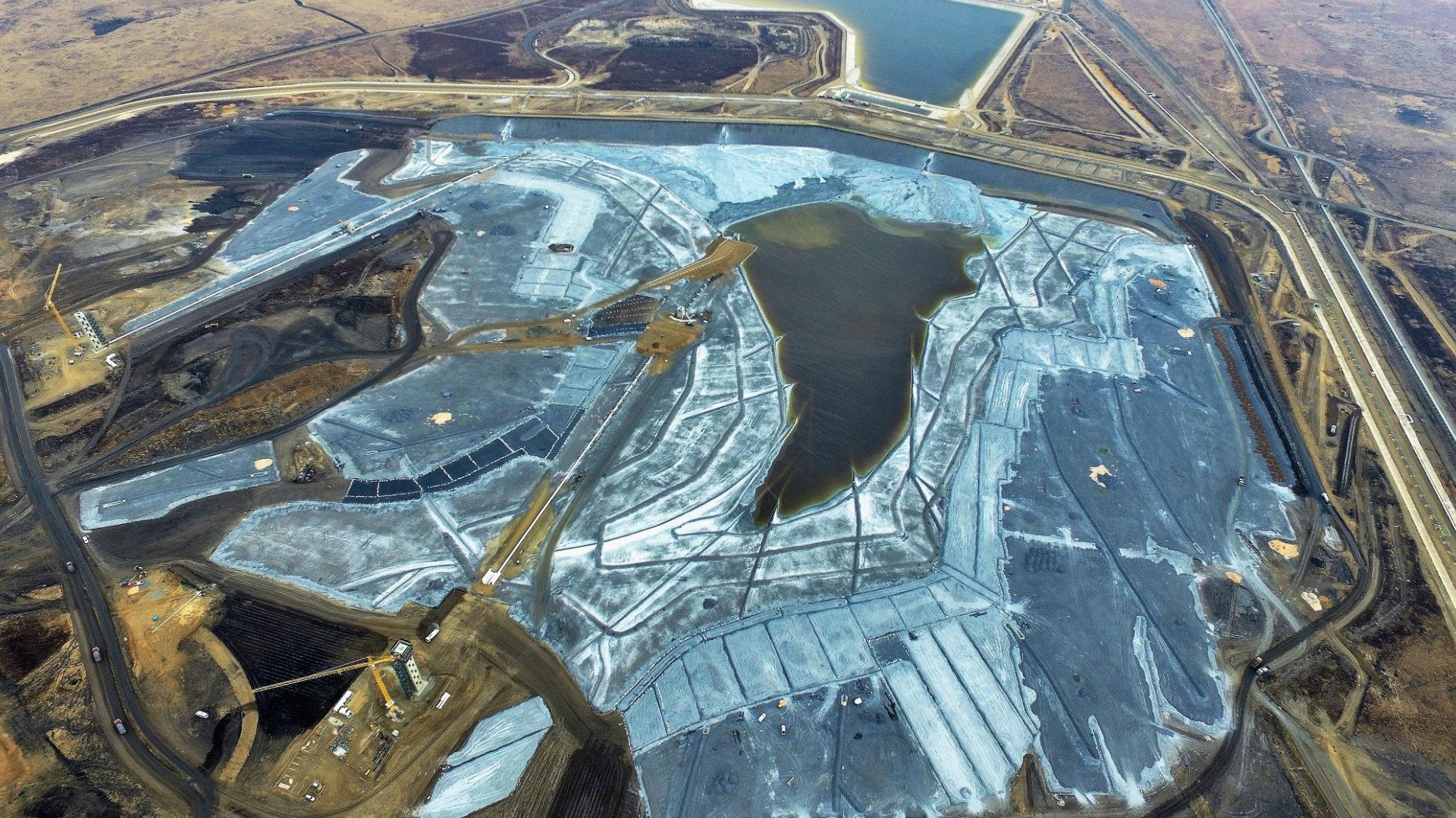 Sasol Fine Ash Dam 6